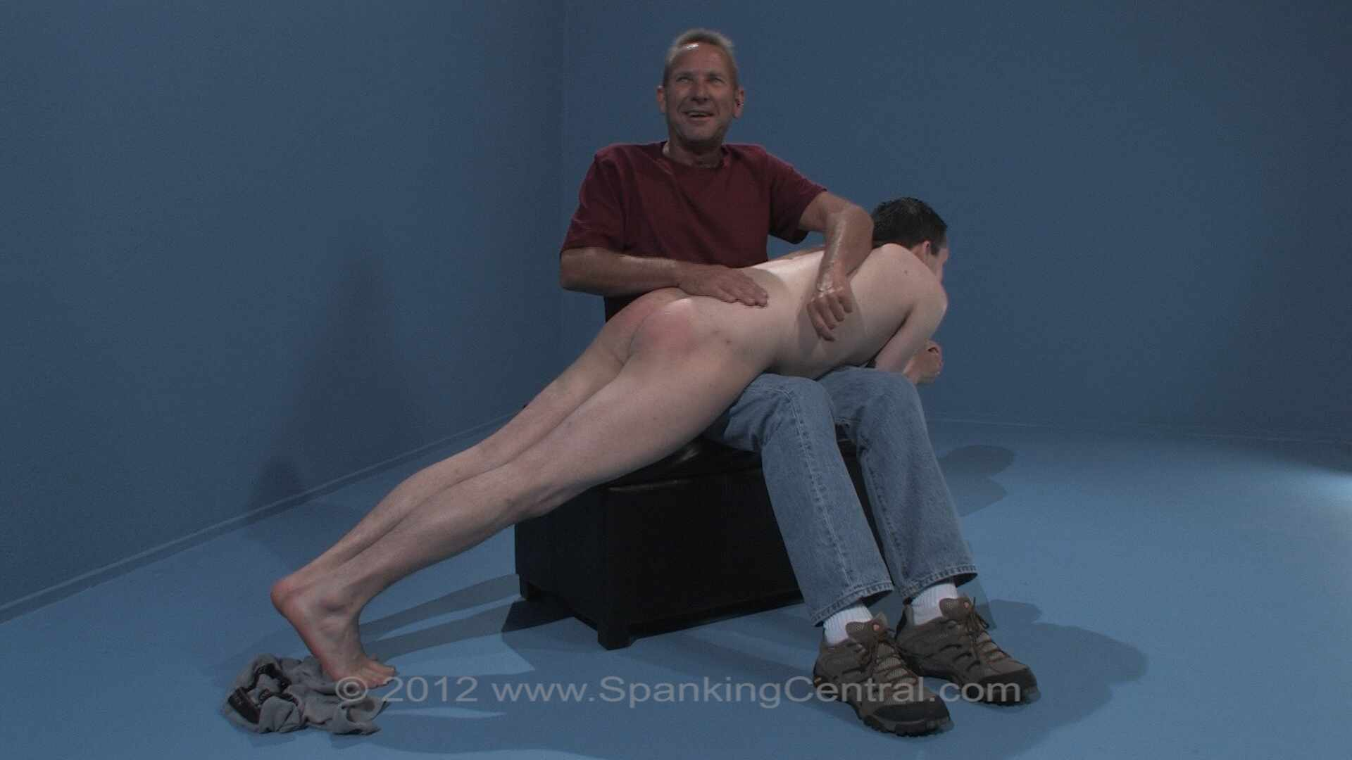 Spanking Central Travis Birthday Blistern