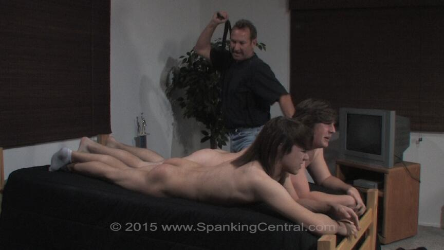 Lesson Love Spank the bad boy wespank hot